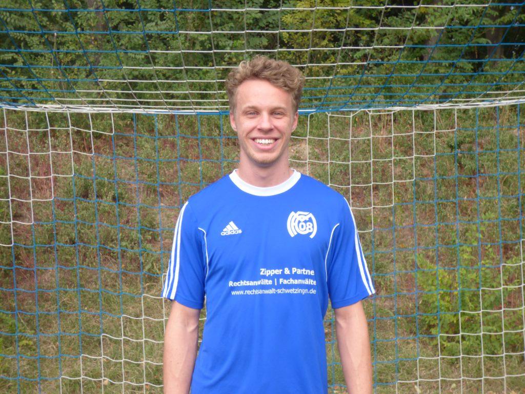 Name: Oliver Schlick   Position: Mittelfeld