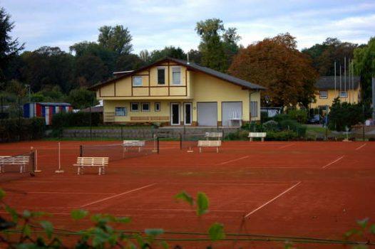 Das Tennis-Gebäude